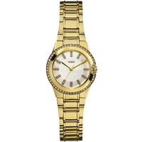 Buy Guess Ladies Gold Tone Bracelet Watch W12654L1 online