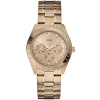Buy Guess Ladies Gold Tone Steel Bracelet Watch W13101L1 online