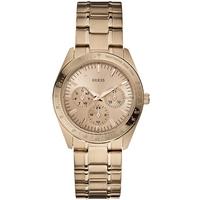 Buy Guess Ladies Gold Tone Steel Bracelet Watch W13101L1 online