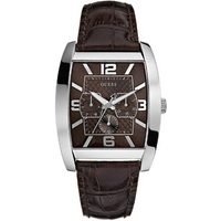 Buy Guess Leather Power Broker Watch W80009G2 online