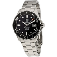 Buy TAG Heuer Gents Automatic Silver Aquaracer Watch WAN2110.BA0822 online