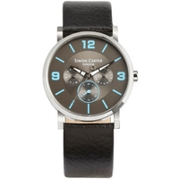 Buy Simon Carter Gents Leather Strap Watch WT2202BL online