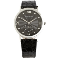 Buy Simon Carter Gents Leather Strap Watch WT2203BK online