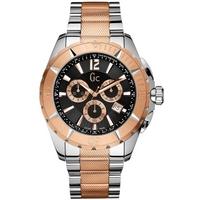 Buy Gc Gents Chronograph 2 Tone Bracelet Watch X53003G2S online
