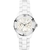 Buy Gc Ladies Mother of Pearl White Ceramic Bracelet Watch X69001L1S online