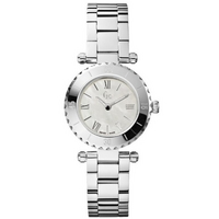 Buy Gc Ladies Mother of Pearl Silver Tone Bracelet Watch X70001L1S online