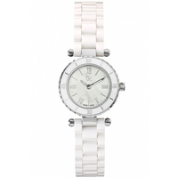 Buy Gc Ladies Mother of Pearl White Ceramic Bracelet Watch X70007L1S online