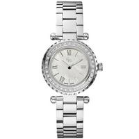 Buy Gc Ladies Silver Tone Stone Set Bracelet Watch X70105L1S online