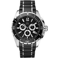 Buy Gc Gents Chronograph Black Ceramic Bracelet Watch X76002G2S online
