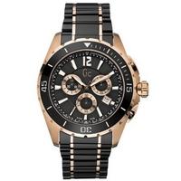 Buy Gc Gents Sport 2 Tone Bracelet Chronograph Watch X76004G2S online