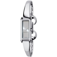 Buy Gucci Ladies G Line Stainless Steel Bangle Watch YA109523 online
