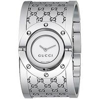 Buy Gucci Ladies G Line Stainless Steel Bangle Watch YA112413 online