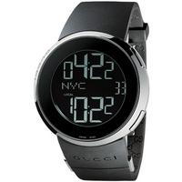 Buy Gucci I Gucci Gents Digital Rubber Strap Watch YA114202 online