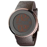 Buy Gucci I Gucci Gents Digital Rubber Strap Watch YA114209 online