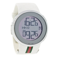 Buy Gucci I Gucci Gents  White Rubber Strap Watch YA114214 online