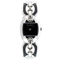Buy Gucci Ladies G-Gucci Bracelet  Black Dial Watch YA121501 online