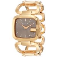 Buy Gucci G-Gucci Ladies Medium Sized Gold Tone Bracelet Watch YA125408 online