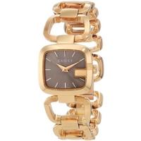 Buy Gucci G-Gucci Ladies Small Sized Gold Tone Bracelet Watch YA125511 online