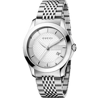 Buy Gucci G-Timeless Gents Stainless Steel Bracelet Watch YA126401 online