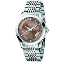 Buy Gucci G-Timeless Gents Stainless Steel Bracelet Watch YA126412 online