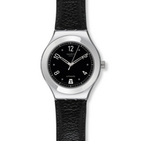 Buy Swatch Gents Irony Automatic Black Board Watch YAS405 online