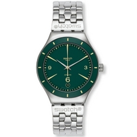 Buy Swatch Gents Irony Green Sky Automatic Watch YAS410G online
