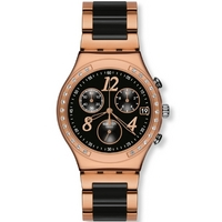 Buy Swatch Ladies Irony Chrono Dreamnight Rose Watch YCG404G online