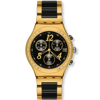 Buy Swatch Ladies Irony Chrono Dreamnight Yellow Watch YCG405G online