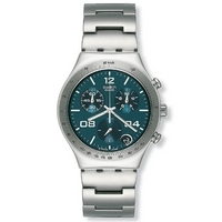 Buy Swatch Gents Irony Chrono Blustery Watch YCS438G online