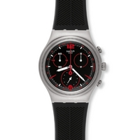 Buy Swatch Gents Red Casual Watch YCS568 online