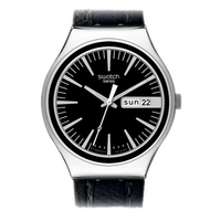 Buy Swatch Irony Big Charcoal Suit Watch YGS744 online
