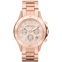 Buy Marc by Marc Jacobs Ladies Rock Rose Gold Tone Steel Bracelet Watch MBM3156 online