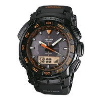 Buy Casio Protrek Gents Black Rubber Strap Watch PRG-550-1A4ER online