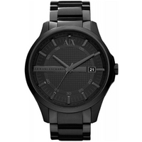 Buy Armani Exchange Gents Smart Black Steel Bracelet Watch AX2104 online