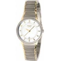 Buy Boccia Ladies 2 Tone Titanium Bracelet Watch B3158-02 online
