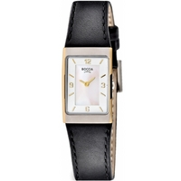 Buy Boccia Ladies Leather Strap Watch B3186-03 online