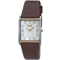 Buy Boccia Ladies Brown Leather Strap Watch B3210-02 online