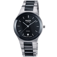 Buy Boccia Gents Titanium and Ceramic Bracelet Watch B3564-02 online