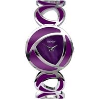 Buy Seksy Ladies Purple Bracelet Watch 4533 online