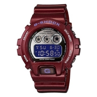 Buy Casio Gents G-Shock Claret Resin Strap Watch DW-6900SB-4ER online