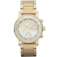 Buy DKNY Ladies Gold Tone Bracelet Watch NY4332 online