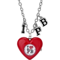 Buy Pauls Boutique Ladies Chain Necklace Watch PA009RDSL online