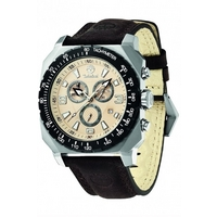 Buy Timberland Gents Stratham Brown Leather Strap Chrono Watch 13324JSTB-07 online