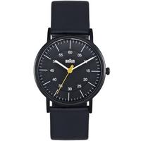 Buy Braun Ladies Leather Strap Watch BN0011BKBKL online