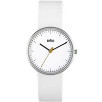 Buy Braun Ladies Leather Strap Watch BN0021WHWHL online