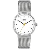 Buy Braun Ladies Steel Bracelet Watch BN0031WHSLMHL online