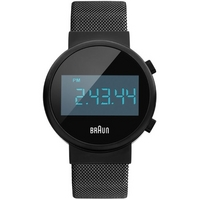 Buy Braun Gents Steel Bracelet Watch BN0036BKBKMHG online