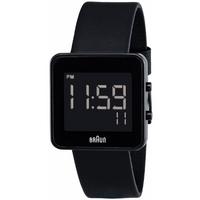 Buy Braun Gents Leather Strap Watch BN0046BKBKG online