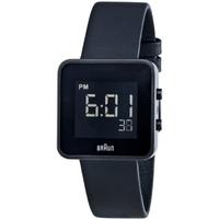 Buy Braun Ladies Leather Strap Watch BN0046BKBKL online