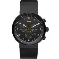 Buy Braun Gents Steel Bracelet Watch BN0095BKBKBTG online